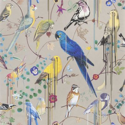 Christian Lacroix Wallpaper Birds Sinfonia Cuivre