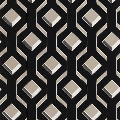 Designers Guild wallpaper Chareau Noir