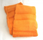 Lot de 2 serviettes orange en bambou