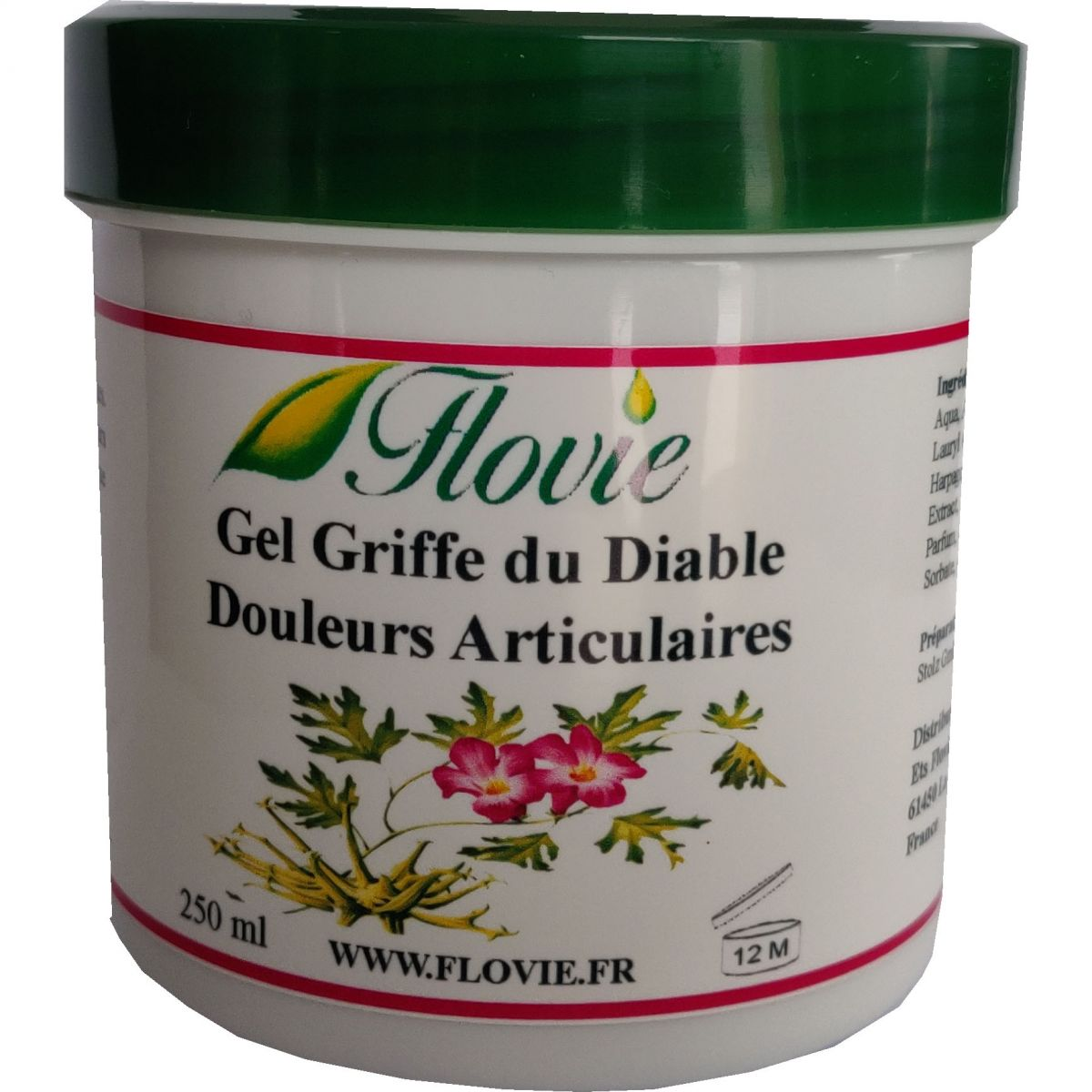Gel à base de griffe du diable