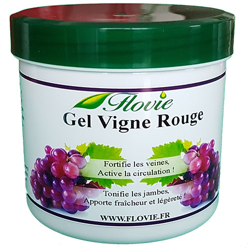 Gel vigne rouge FLOVIE