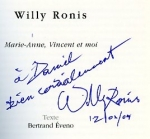 Ronis Willy Marie-Anne, Vincent et moi - ISBN 2910682765.