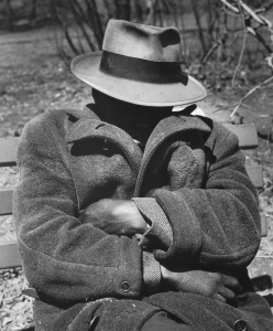 Bizien Jean Homme invisible New-York 1955.