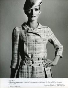 Anonyme Carven collection année 1967.