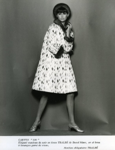 Anonyme Carven 100 collection année 1965.