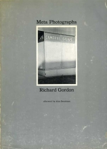 Gordon Richard Meta photographs - ISBN 0960184406.