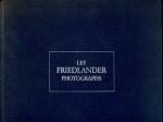 Friedlander Lee Photographs.