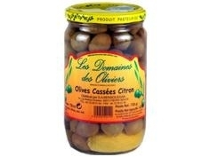 Olives Colossales au Citron 720gr