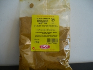 Curry Moulu 100gr