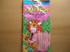 Sour Sticks Rose Limonade100gr