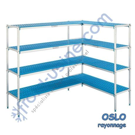 Rayonnage modulaire pour chambre froide