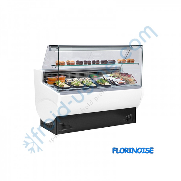 Vitrine service arri re froid statique for Froid brasse ou froid statique