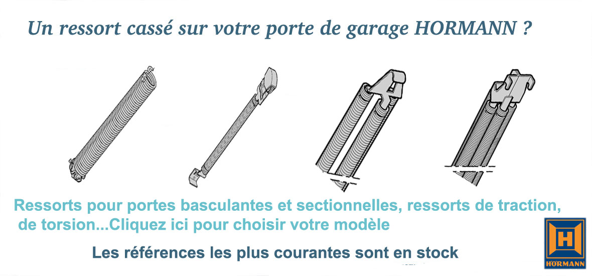 Gamalin pieces d tach es portes de garage hormann for Ressort porte de garage hormann