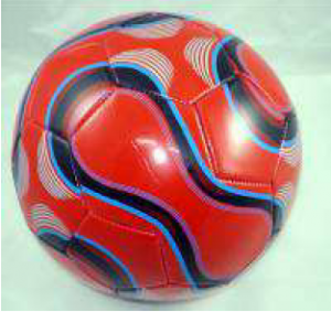 Ballon simili cuir foot