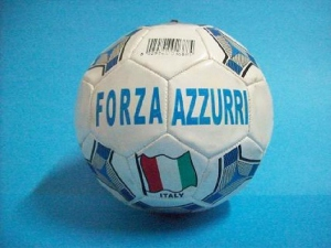 "Ballon football cuir N°5 ""ITALIE"""