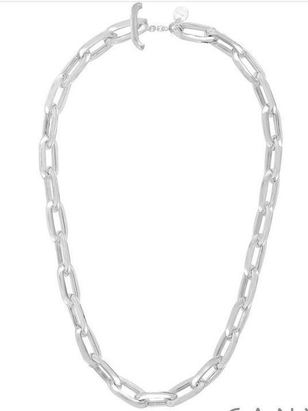 Collier Canyon en argent Maille rectangle