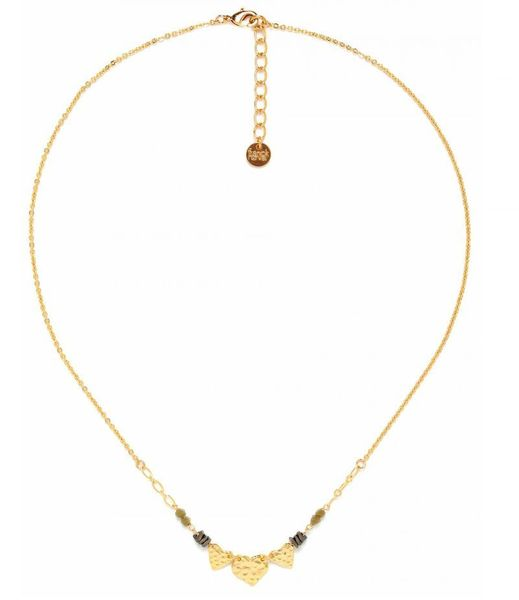 Collier Franck Herval Amor 3 p'tits coeurs hiver 2021