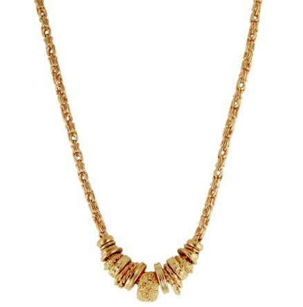 Collier Gas Marquise chaîne or