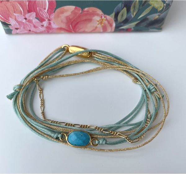 Bracelet By Garance Indy turquoise