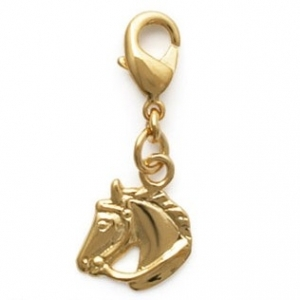 Charms Cheval en plaqué or