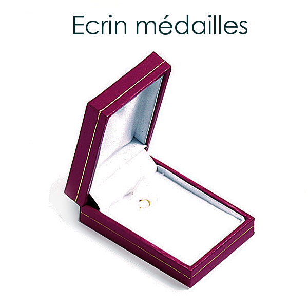 Médaille ronde or 750/000