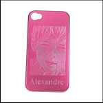 Coque I phone rose 4 - 4S
