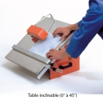 Scie de carrelage sur table TT250G Norton Clipper 250mm 1000W