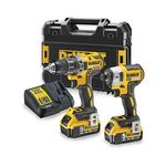 Kit 2 Outils XR 18V 5AH Li-on DEWALT