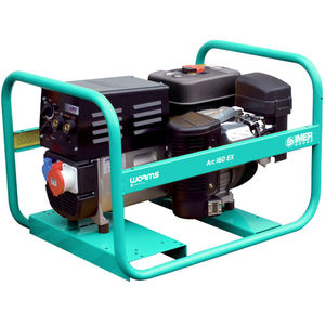 Groupe autonome de soudage essence triphasé 160 A 4,5 kW AVR WORMS