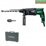 Perforateur Hitachi SDSplus 830W en coffret DH26PB