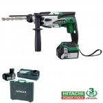 Perforateur DH 18DSL A HITACHI SDS18V 4 Ah Li-ion 1,4 joule