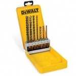 Coffret de 7 forets 4 TAILLANTS SDS-Plus XLR DEWALT DT8976