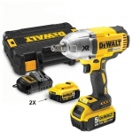 Boulonneuse à chocs DEWALT 18V 5.0Ah 950Nm XR Brushless 3 vitesses DCF899P2