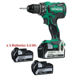 Perceuse Visseuse 18 V 5.0 Ah Li-ion HITACHI