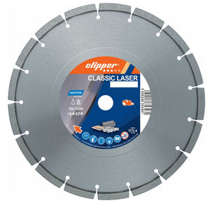 Disque diamant CLASSIC UNIVERSAL LASER Ø230 x 22,23 mm NORTON CLIPPER