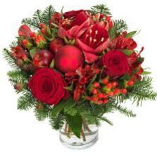 Bouquet bulle rouge