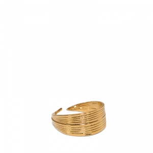 Bambou mid-finger Ring