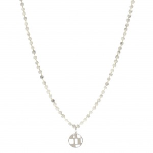 Howlites Long Necklace