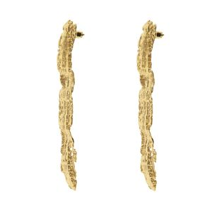 Earrings Barre tweed GM