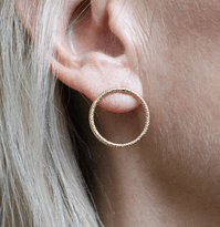 Neo Hoops Diamantée