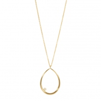 Ovale Perle GM Necklace