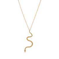 Serpent Long Necklace