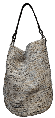 Blue chanou bucket bag
