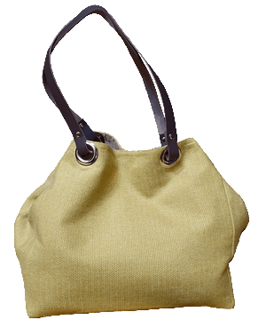 Blue chanou small-size carrier bag