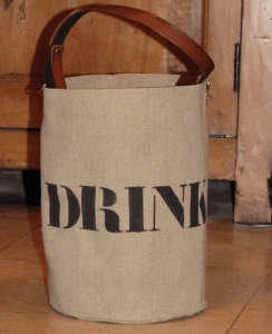 "bucket bag Small Size  ""Drinks"