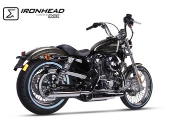 HD 1009 SC / HARLEY DAVIDSON / SPORTSTER XL 883 2014-2016 SLIP ON (SUPERIEUR)