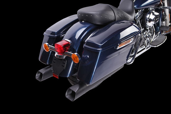HD 1019 SB / HARLEY DAVIDSON / TOURING ROAD KING 2017-2020 SLIP ON (COTE GAUCHE)