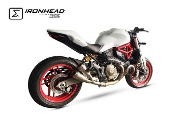 SILENCIEUX DOUBLE DUCATI-M 821  MONSTER