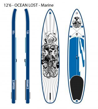 SURFPISTOLS GHOST GREY 12'6 30'' 6''