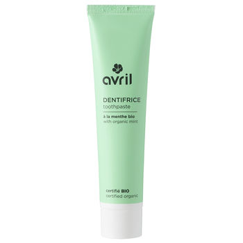 DENTIFRICE MENTHE BIO AVRIL